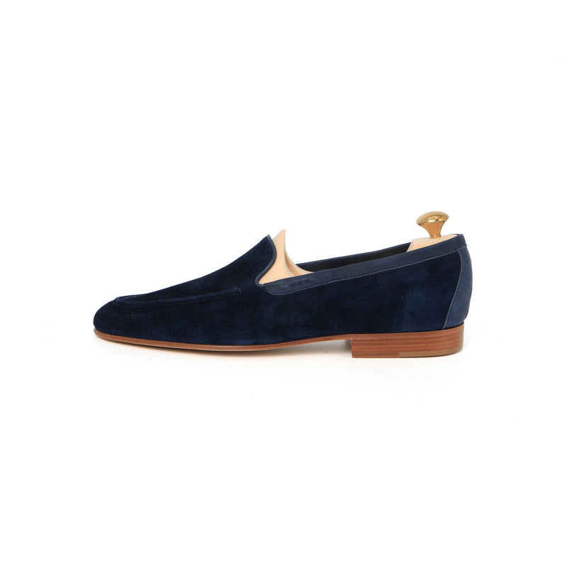Purbeck Loafers in Navy Suede