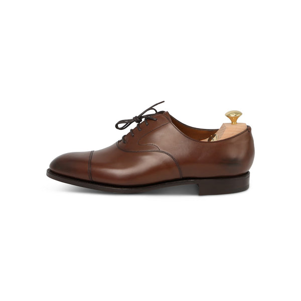 Chelsea Laced Oxfords in Dark Oak Leather