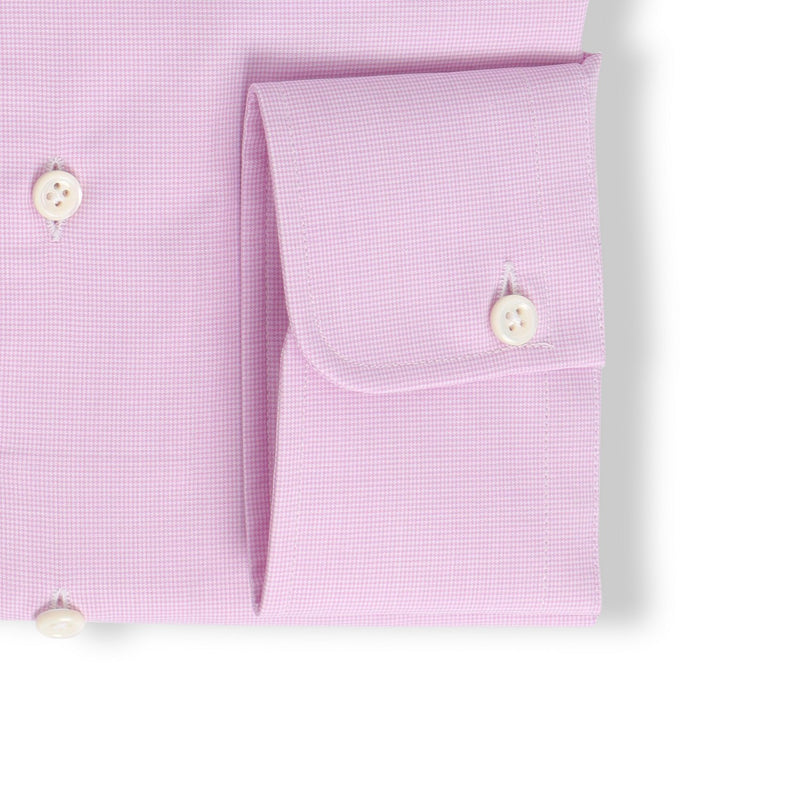Fuschia Small Houndstooth Shirt