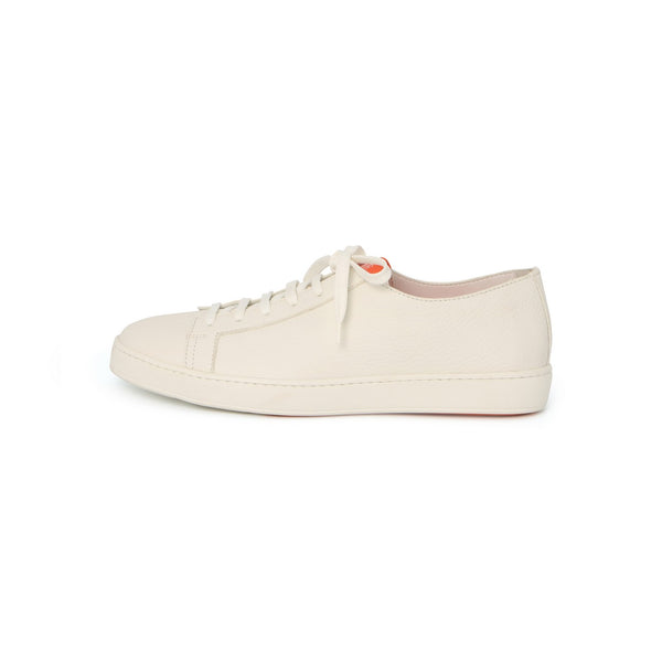 Make Love Sneakers in White Leather
