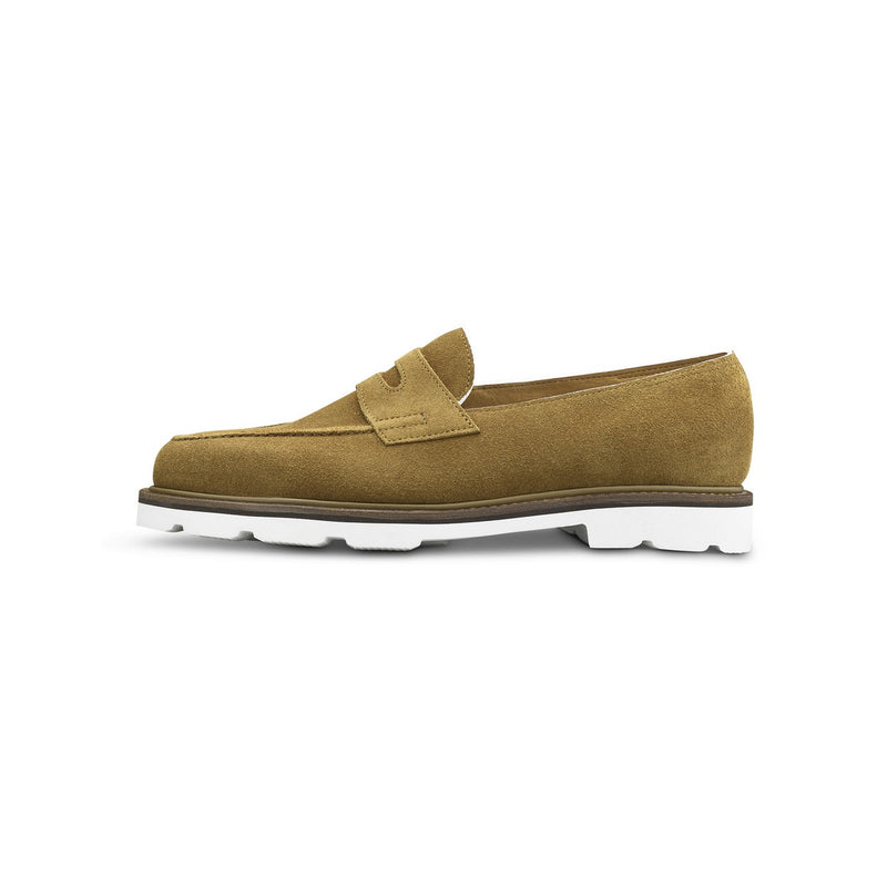 Lopez Loafers in Tobacco Suede