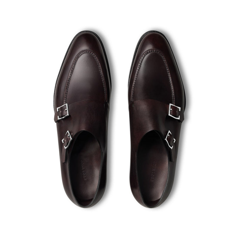 Hayes Monks in Plum Museum Calf Leather