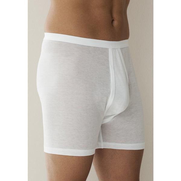 Extra-Long White Boxer Briefs