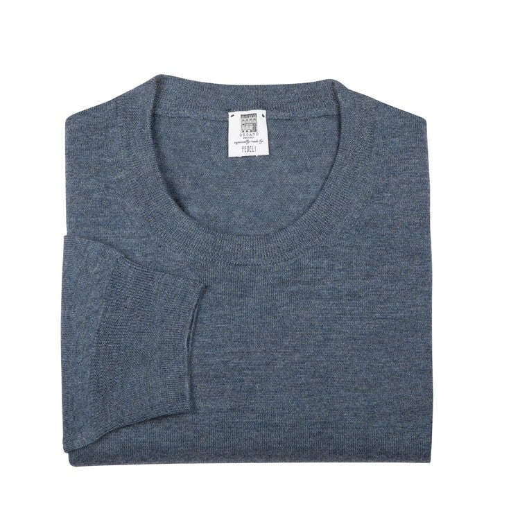 Long Sleeve Pullover - Crew neck - Jeans