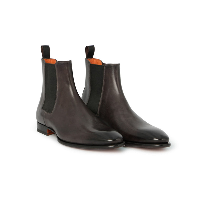 Chelsea Boots in Brown Leather