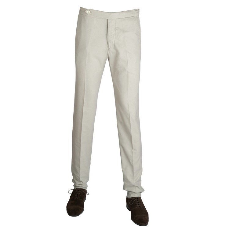 Linen Cotton Pants – Beige