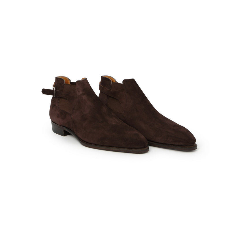 Bernay Boots in Brown Suede