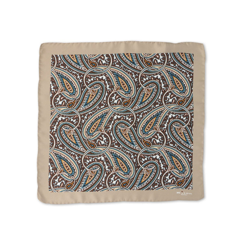 Cachemire Silk Pocket Square