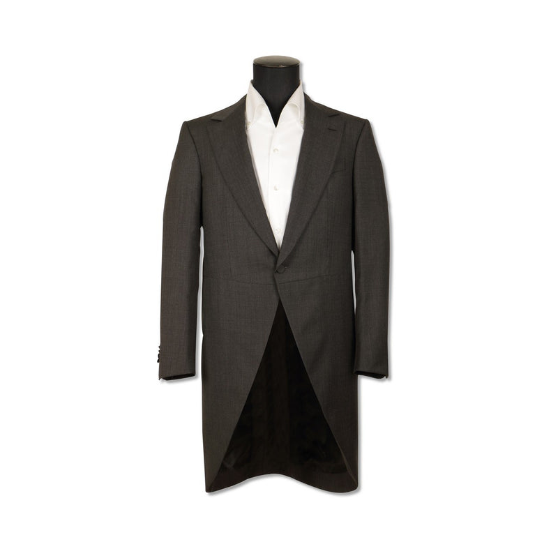 Tight Anthracite Frock Coat