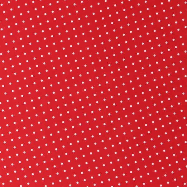 Dots Red Silk Pocket Square