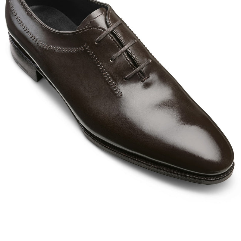 Holt Laced Oxfords in Brown Leather