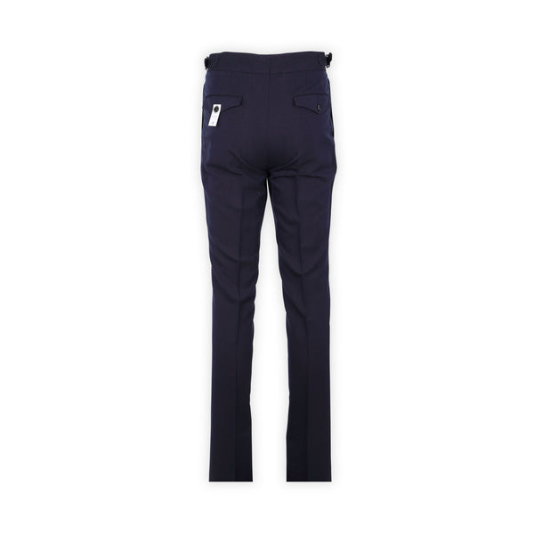 Gentleman Fit Straps Pants – Navy