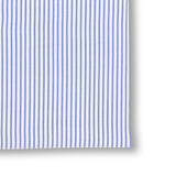 Striped White and Navy Shirt