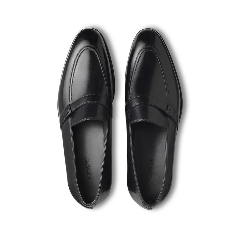 Felton Loafers in Black Leather