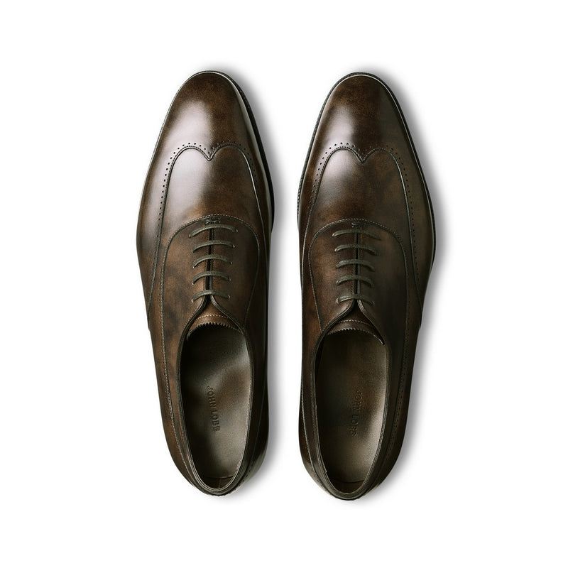 Strand Laced Oxfords in Dark Brown Leather — 2020 Limited Edition