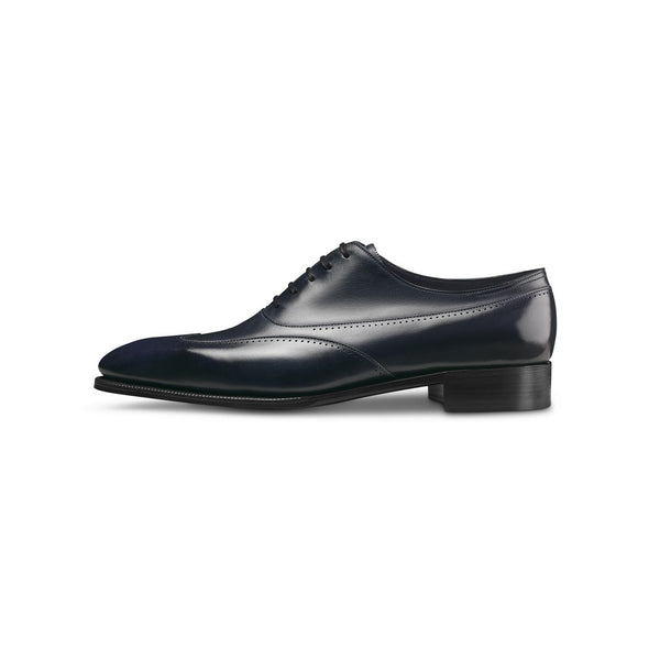 Strand Laced Oxfords in Navy Leather — 2020 Limited Edition