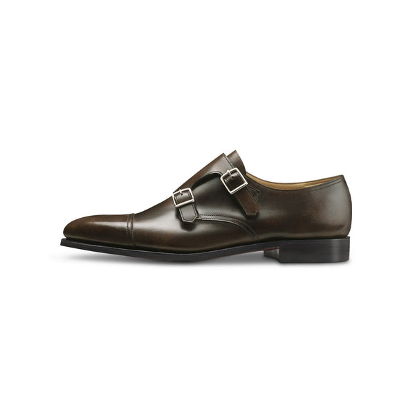 William Monks in Dark Brown Leather