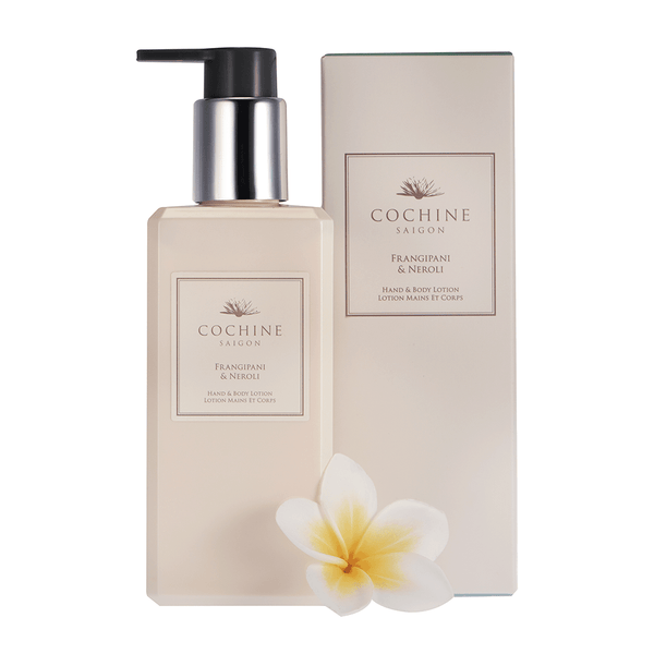 Frangipane and Neroli Moisturizing Lotion