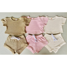 Load image into Gallery viewer, Preorder | Baby Set | Textured Two Piece | Nude