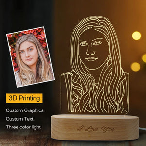 Best Moment 3D Night Light