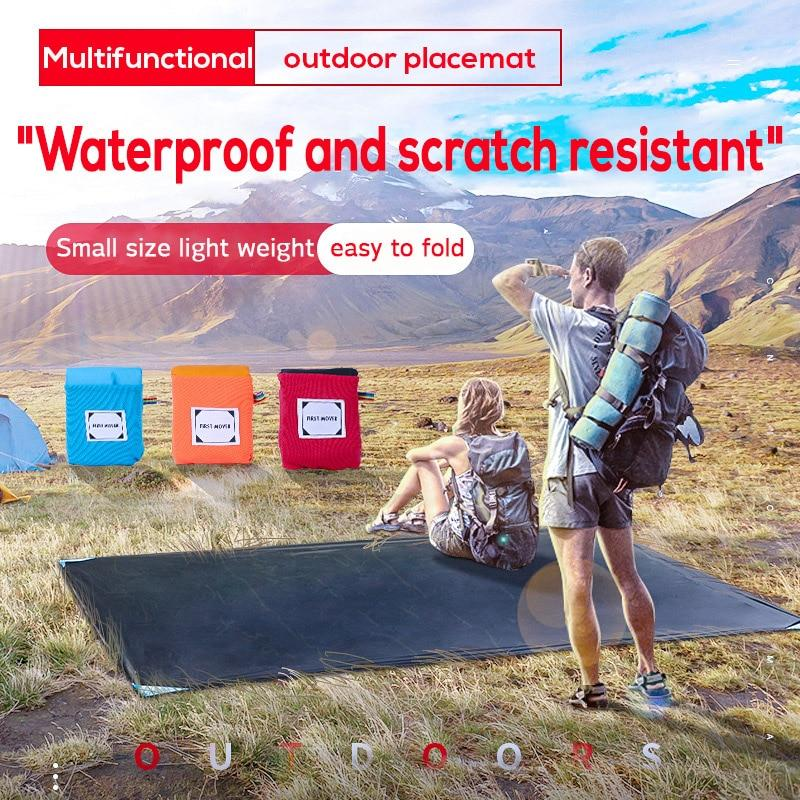 Portable Waterproof Pocket Camping beach picnic Mats - mokibunny