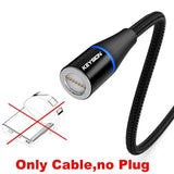 5A Magnetic Fast Charging Cable for Android and Iphone - mokibunny