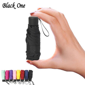 Anti-UV Waterproof Portable Pocket Travel Umbrella - mokibunny