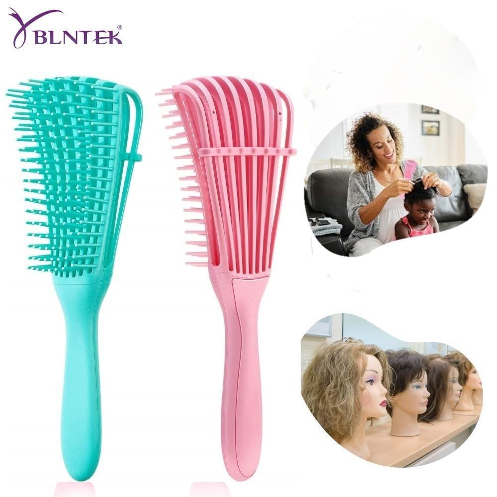 Detangling Hair Brush Scalp Massage Hair Comb Detangling Brush for Curly Hair Brush Detangler Hairbrush Women Men Salon - mokibunny