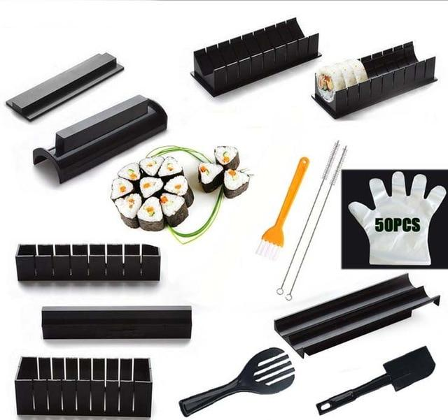 One Set Sushi Maker Equipment Kit - mokibunny