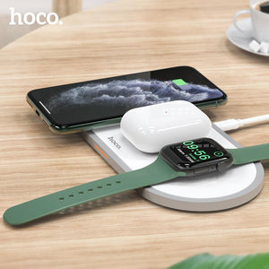 3 in1 Wireless Charger for iphone and Apple Watch - mokibunny