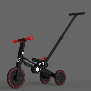 4 In 1 Kids Trike Balance Bike Pedal Tricycle Push Bike Stroller - mokibunny