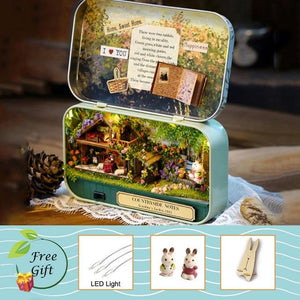 Theatre Dollhouse DIY Box - mokibunny