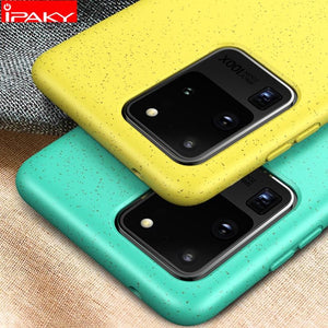 Samsung  Liquid Silicone Shockproof Soft Case For S20 Ultra - mokibunny