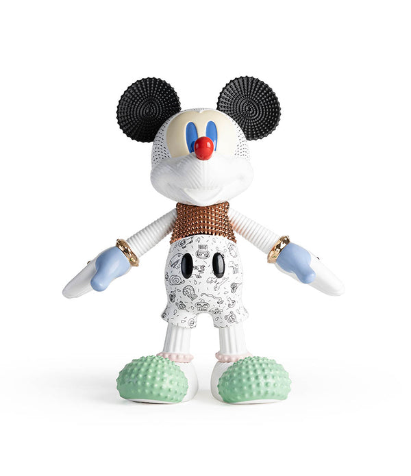 Mickey Forever Young 90th Anniversary Sculpture