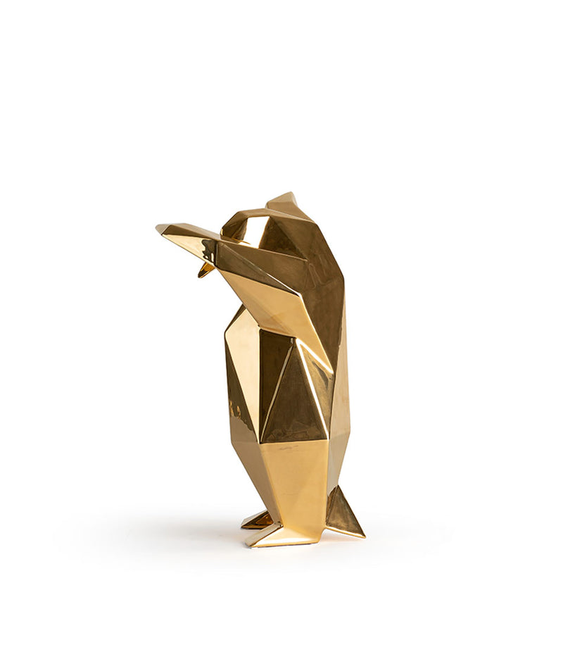 Dab Penguin Sculpture