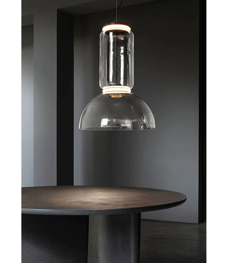 Noctambule LED Suspension Lamp - Bowl Shade
