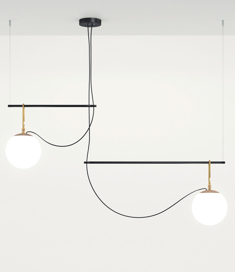 NH S3 2 Arms Suspension Lamp