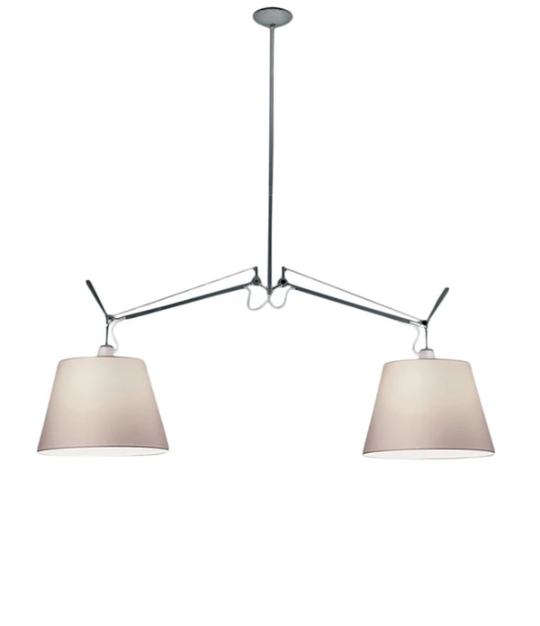 Tolomeo Double Suspension Lamp with Shade