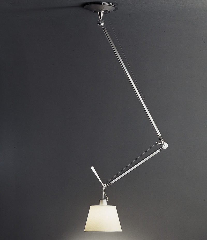 Tolomeo Off-Center with Shade Suspension Lamp