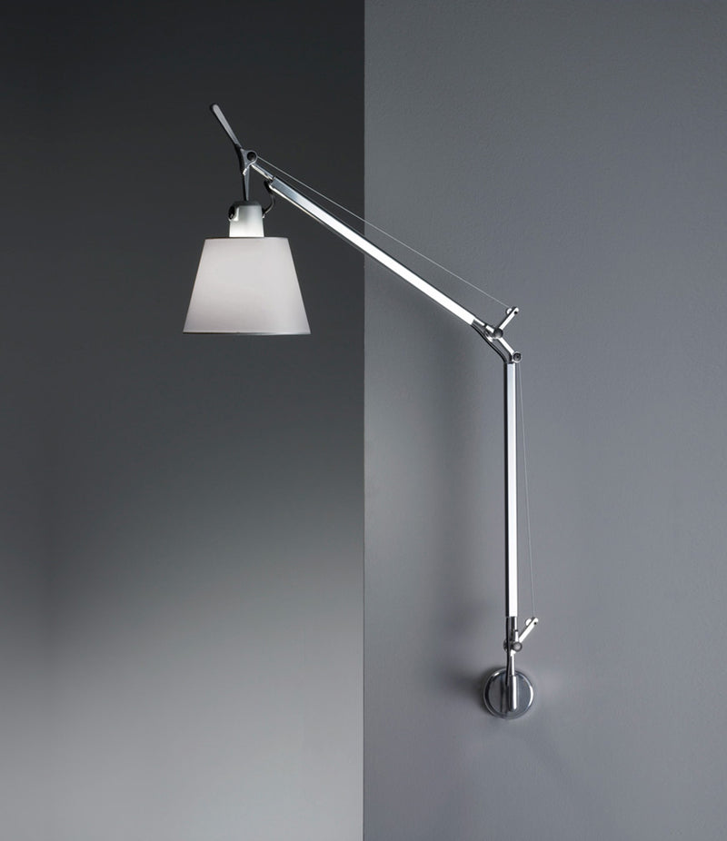 Tolomeo with Shade Wall Lamp with J-Bracket