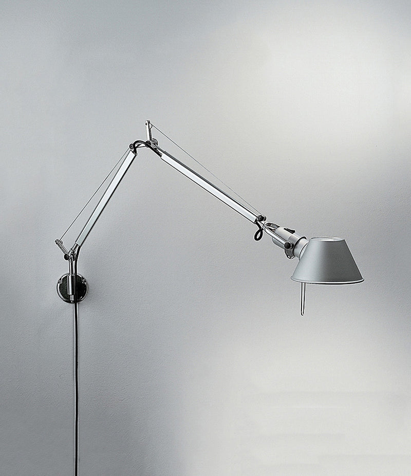 Tolomeo Wall Lamp with S-bracket Dimmable