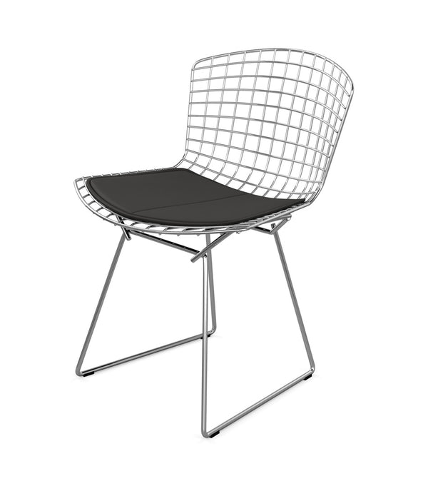Bertoia Side Chair - Leather Seat Pad