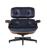 Eames Lounge Leather Chair - Classic Size