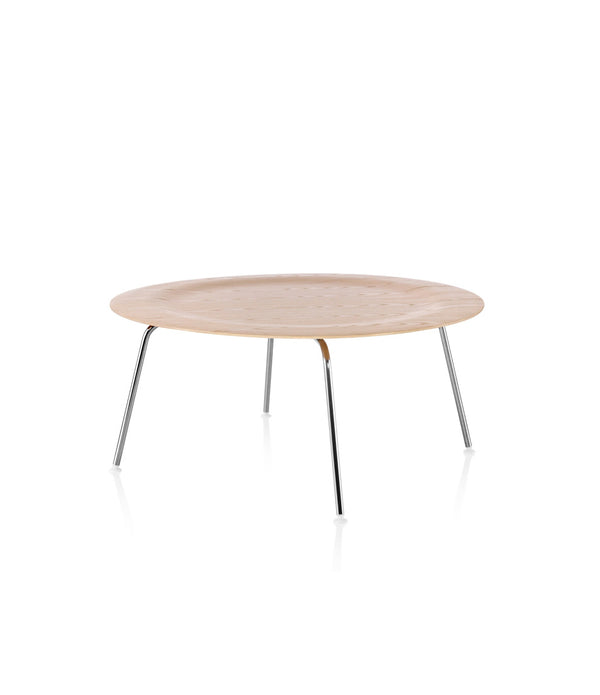 Eames® Molded Plywood Coffee Table - Metal Base