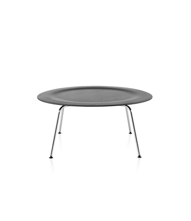 Eames Molded Plywood Coffee Table - Metal Base