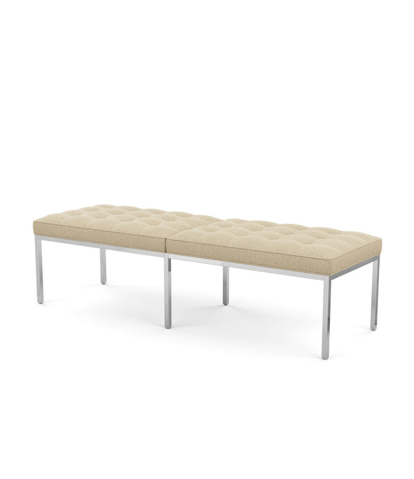 Florence Knoll Three Seat Bench - Fabric