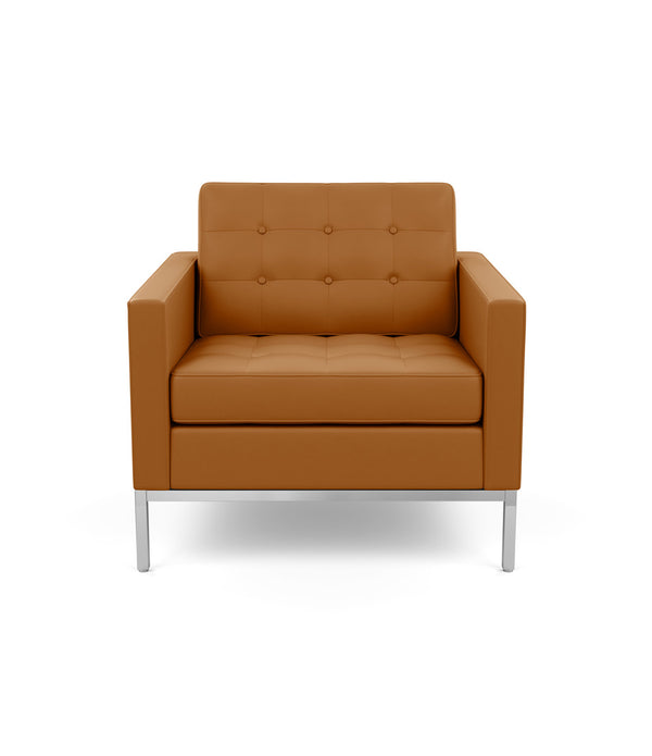 Florence Knoll Lounge Chair - Leather