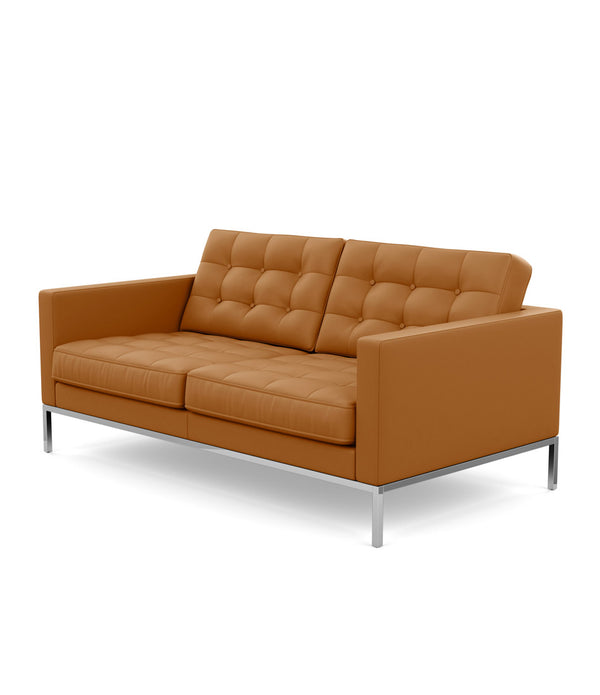 Florence Knoll Relaxed Settee - Leather