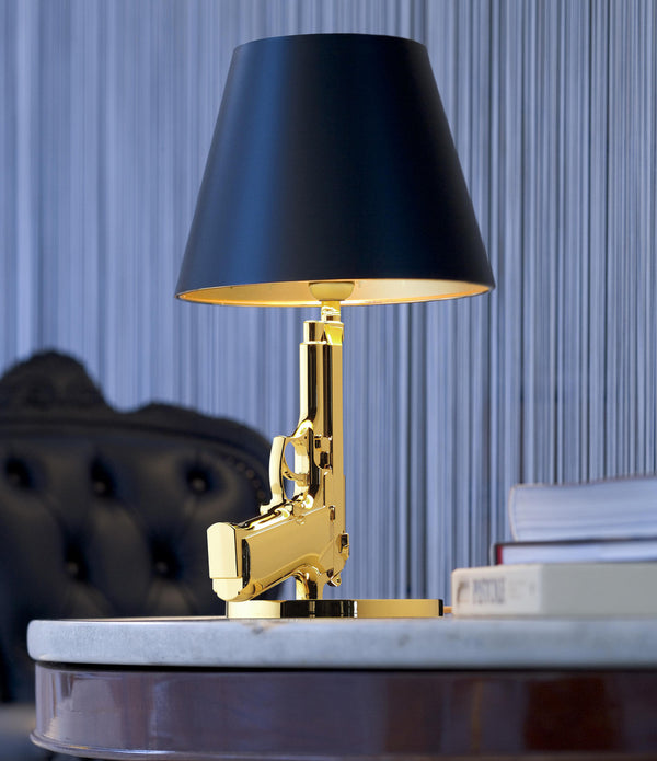Guns Bedside Table Lamp