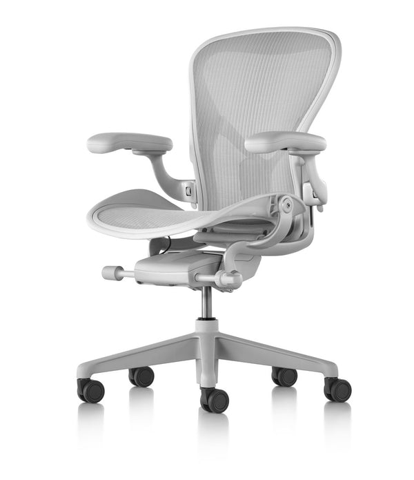 Aeron® Remastered Chair - Mineral and Carbon